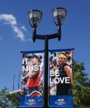 2009 Champions, Kim Clijsters and Juan Martin del Potro