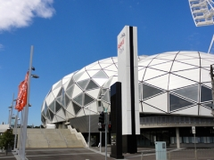 AAMI Park, marvelous new arena for football and rugby