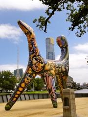 Angel of Melbourne, created by Deborah Halpern in 1988