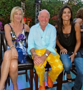 With Chris Evert and Gabriela Sabatini ... at a WTA reunion