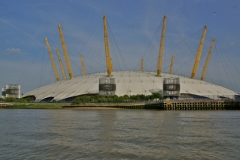 Concert and sports arena, O2, on the banks of the Thames