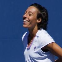 Francesca Schiavone enjoying her latest victory