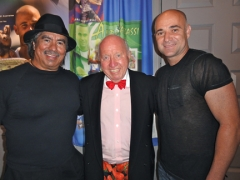 Gil Reyes, Bud and Andre Agassi