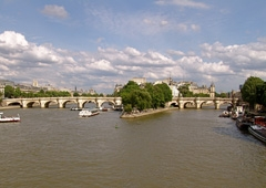 Pont Neuf and Ile de la Cite from Pont des Artes.