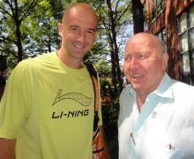 Ivan Ljubicic with Bud