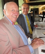Bud with Australia's leading and most influential wine critic, Jeremy Oliver