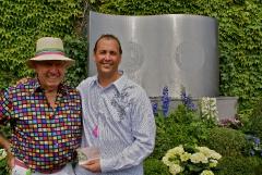 Pal, Damien, celebrates his 50th b'day at Wimbledon