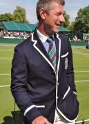 Umpire's Ralph Lauren outfit