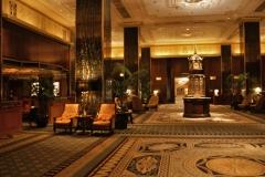 Lobby of Waldorf Hotel
