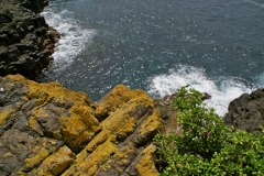 Blowhole rocks in Kiama