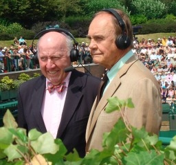Bud and Dick Enberg working for ESPN