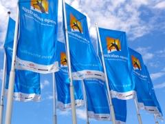 OZ Open flags at Melbourne Park