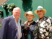Philadelphia friends, Sibby and Bob Brasler with Bud