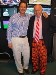President of Tennis channel, Ken Solomon with Bud
