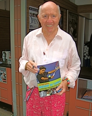 Bud selling his book at the US Open Bookstore